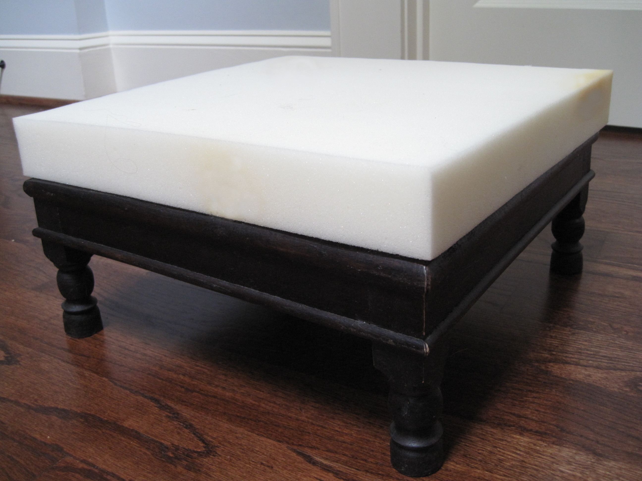 DIY: A No Sew Upholstered Footstool Tamara Heather Interior Design. Full resolution‎  picture, nominally Width 2592 Height 1944 pixels, picture with #604238.