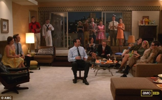 mad men style furniture. Mad Men - Don\u0027s Party Style Furniture Y