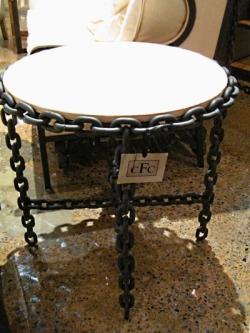 Noir Chain Link Table