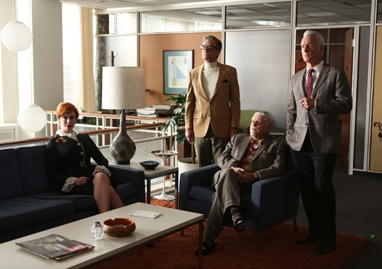 Mad Men office partners