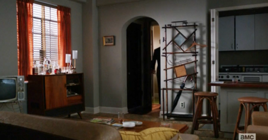 Pete Campbell's apartment