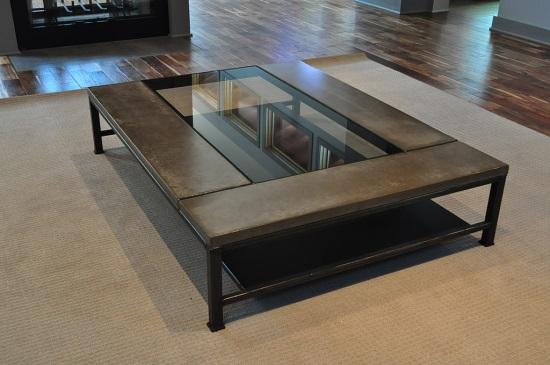 QA With Billy Sproul Of Slab Fab Studio Tamara Heather Interior - Welded coffee table