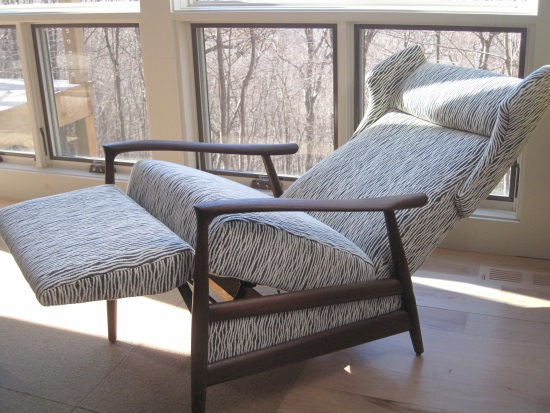 mid century recliner. After View Of Chair Reclined With Mid Century Recliner. Recliner A
