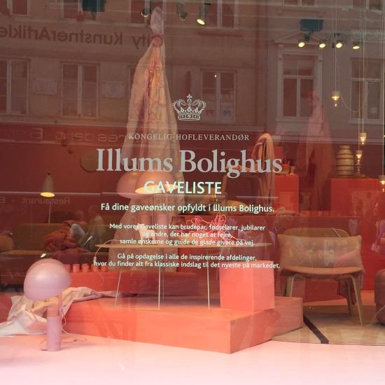 Illums Bolighus window