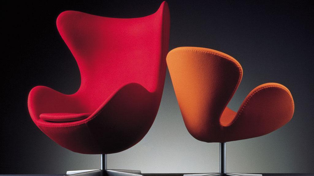 Egg Chair by Arne Jacobsen. Photo credit: Fritz Hansen.